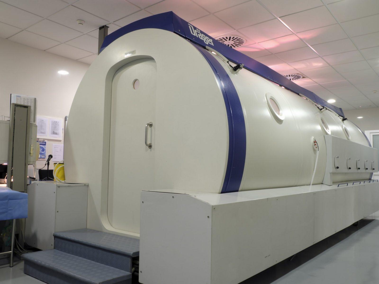 La cámara hiperbárica xanit málaga benalmádena Oxigenación hiperbárica
